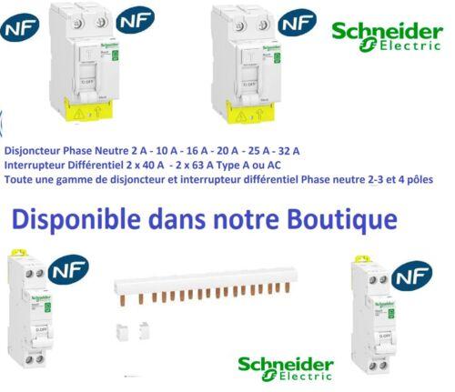 Schneider R9PSC3 Commutateur 3 positions 20 A 1 O//F rési9 XP