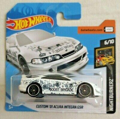 Gut Hot Wheels Custom '01 Acura Integra Gsr Neu Card Hw Nightburnerz Sealed White Warmes Lob Von Kunden Zu Gewinnen Modellbau