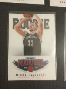 2012-13-Marquee-White-PETG-Group-V-Rookies-509-Mirza-Teletovic