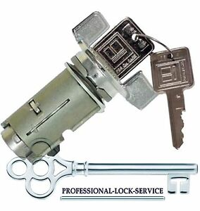 GMC G Van 79-95 Ignition Key Switch Lock Cylinder Tumbler Barrel 2 Keys