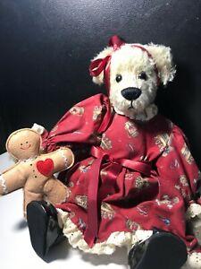 Ganz Cottage Collectibles Ginger Bear 15 Inch Ebay