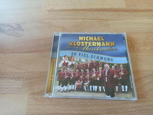 Michael Klostermann und seine Musikanten - So viel Schwung - Musik CD