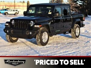 2021 Jeep Gladiator SPORT 4X4            TOUCHSCREEN STEREO  BACK-UP CAMERA  BLUETOOTH  AIR CONDITIONING