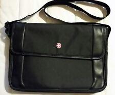 """New Swiss Messenger Shoulder Bag Utility Running Travel Pack Velcro 15"""""""
