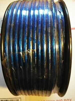 Metra Electronics BC10BL-250 Battery Cable 10 Gauge 250 ft Blue Battery Cable