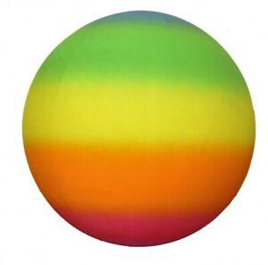 Rainbow-Mega-Ball-18-034-Kids-Summer-Outdoor-Toy-Garden-Game-Beach-Sensory-Toy