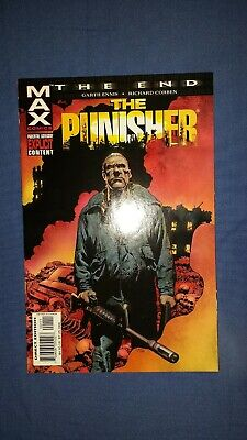 Punisher The End #1 Marvel Comics 2004 Max Garth Ennis Richard Corben RARE HTF