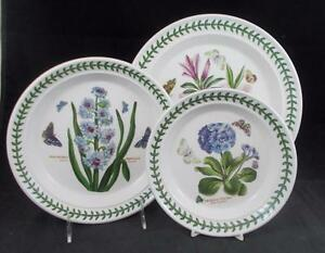 Portmeirion BOTANIC GARDEN Dinner Plate Salad Bread \u0026 Butter GREAT CONDITION & Portmeirion BOTANIC GARDEN Dinner Plate Salad Bread \u0026 Butter GREAT ...