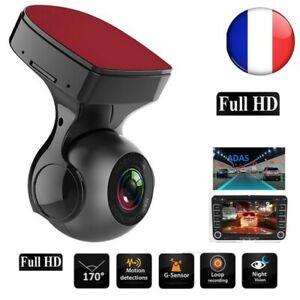 Caméra  Dvr Enregistreur Voiture Auto Full HD Capteur Dashcam 720P Nocturne GPS