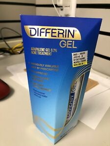 Differin Acne Treatment Gel Retinoid Adapalene 0 1 1 6 Oz 45 G