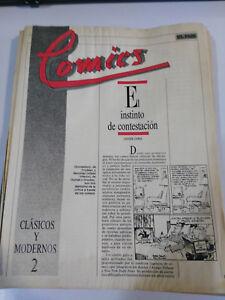 COLECCION COMICS ESPAÑOLES ANTIGUOS EL PAIS - 24 NUMEROS DE 25 - COLECCIONISTA !