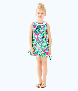 dee8e3cd3b8 Image is loading Lilly-Pulitzer-NWT-Little-Lilly-Classic-Shift-Dress-