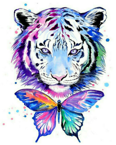 Nature Animals DIY Paint By Number Kit Digital Oil Painting Art Wall Home Decor