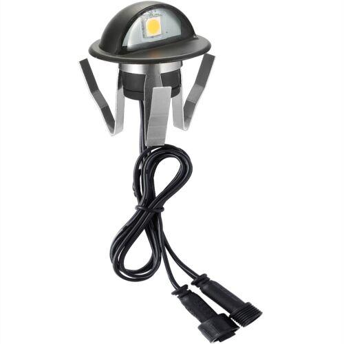10X Black 12V 35mm LED Deck Step Stair Fence Lights WIFI Controller Dimmer Timer