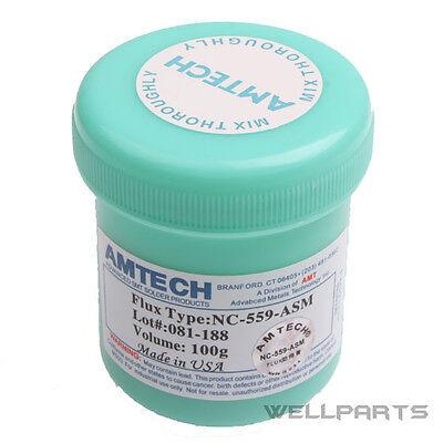 100g AMTECH NC-559-ASM BGA PCB SMT IC Reballing Soldering Paste Flux Grease