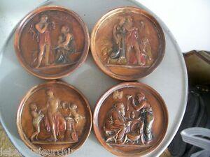 4-anciennes-miniatures-en-terre-cuite
