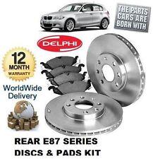 Per BMW SERIE 1 118 120 E87 07 & GT Posteriore Dischi Freno Set & DISC PADS & Pad Sensore