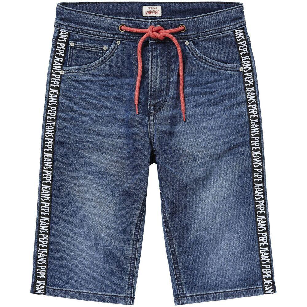 AgréAble Pepe Jeans London Boys Short Jogg Jeans Shorts Gènes Sporty Neuf T. 152/12 Y Large SéLection;