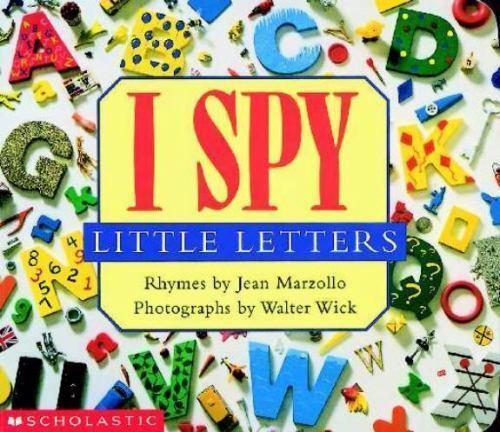 I Spy I Spy Little Letters By Jean Marzollo 2000, Board -5190