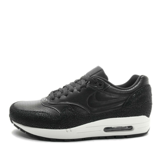 1af723de9f ... reduced nike air max 1 leather pa 705007 001 nsw running black black  17b87 3c212 ...