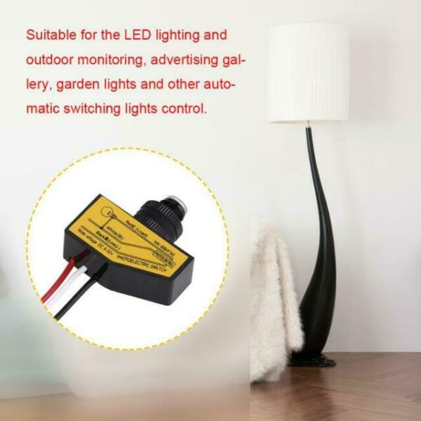 12v Mini Automatic Light Switching Sensor Remote Photocell