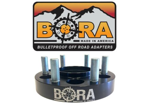 """Made the In USA GMC Sierra 1500 2.00/"""" Wheel Spacers 2 by BORA Off Road"""