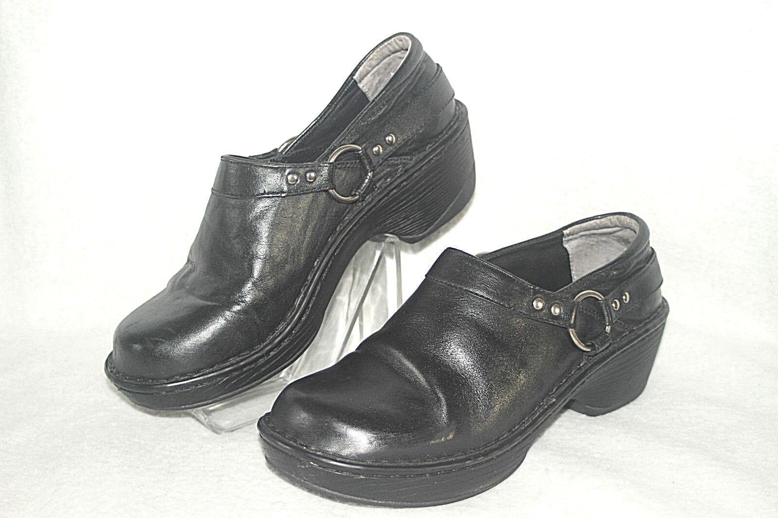DURANGO DREAM ~ Black Leather Low Ankle Boots / Shoes Sz 9.5 M * VERY GOOD +++