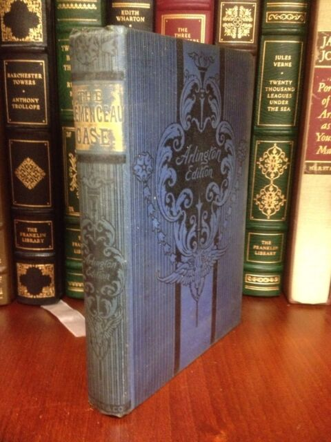 c1888 The Clemenceau Case Memoir Of The Accused Alexandre Dumas Fils Victorian