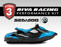 Seadoo Spark Stage 3 Kit 53+ Mph Riva Solas Sk-cd-12/14 Exhaust Kit Maptunerx