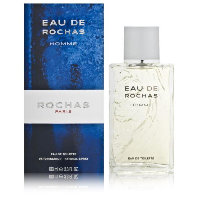 Perfume Rochas Eau de Rochas Hombre Eau de Toilette 100ML Nuevo en Blíster