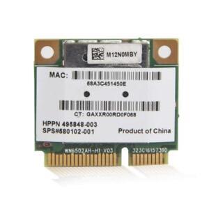 HP-Mini-Wireless-N-Mini-PCI-e-Card-Atheros-AR5BHB92-H-AR9280-DV7-300Mpbs-802-1N