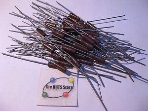 Lot-of-40-Resistor-Metal-Film-68-Ohm-RLR20C68R0GR-68R0-NOS