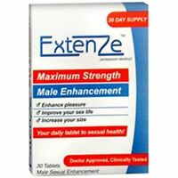 Extenze Nutritional Supplement For Men 30 Tablets (pack Of 2) on sale