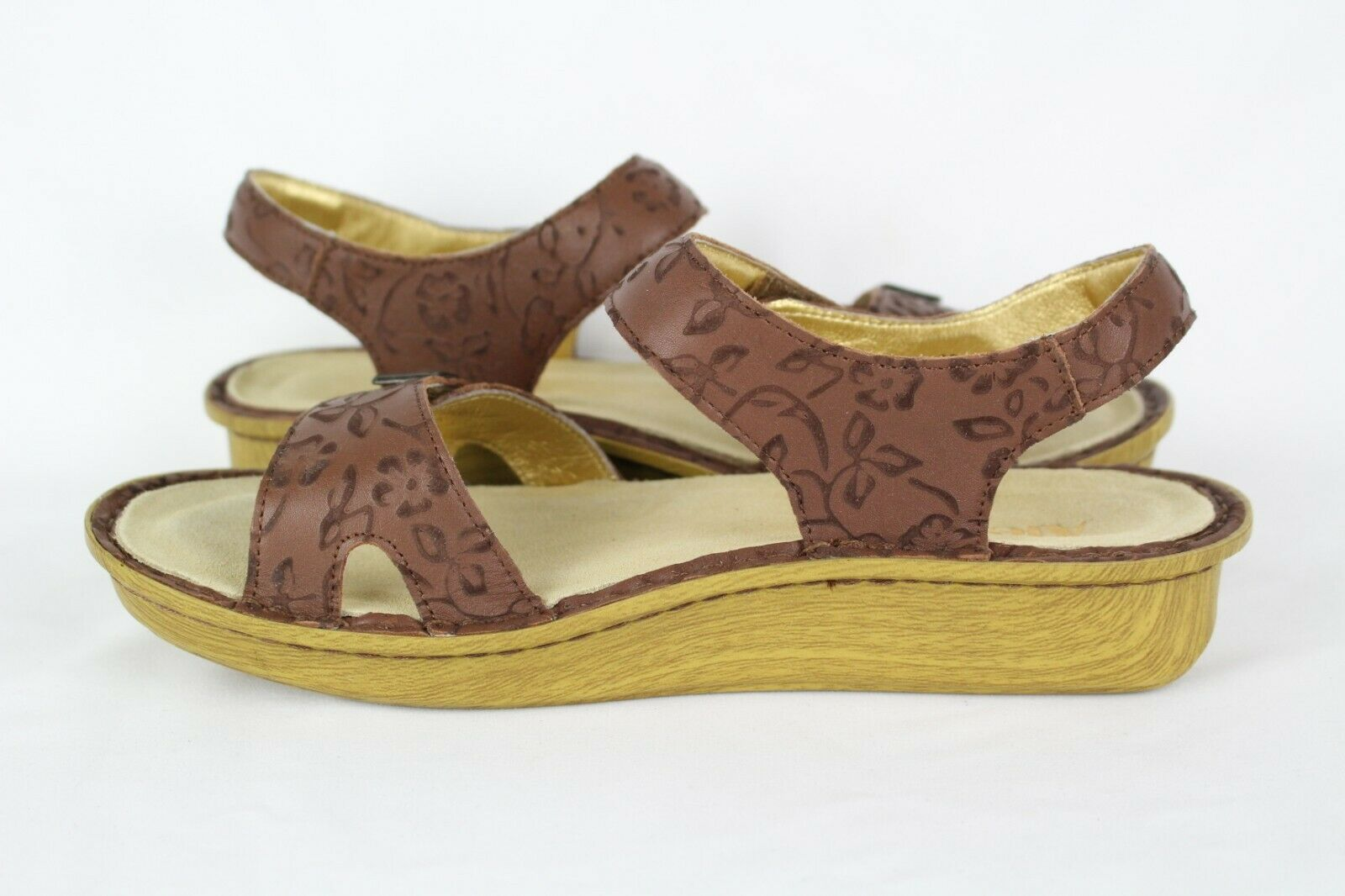 New Alegria Wouomo Morning Glory Sandals Dimensione 8.5 EUR 39 39 39 Tan ea3373