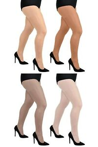 0dd800639 Aurellie Women Plus Size Sheer 20 Denier Lycra Tights (UK 16-22 ...