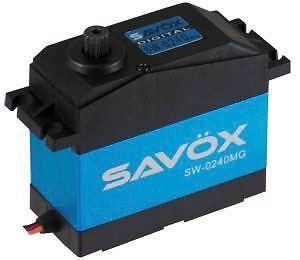 Savox Waterproof Jumbo Metal Geared Servo 35kg
