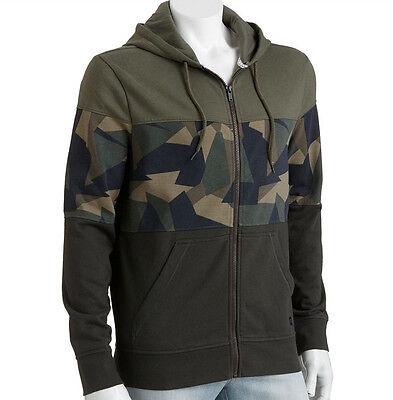 Official Tony Hawk Blocked Camouflage Camo Hoodie Full Zip Young Men Jacket BNWT