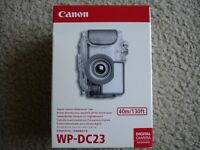Brand Canon Wp-dc23 Waterproof Housing For Sd770 Camera