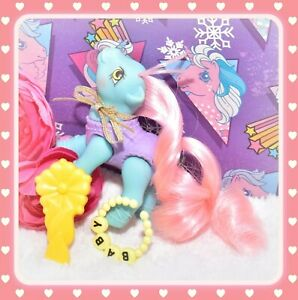 My-Little-Pony-MLP-G1-VTG-Baby-Tippytoes-Tippy-Toes-Sweetsteps-BALLERINA