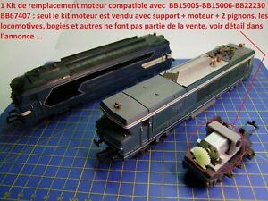 Kit Motorisation locomotives JOUEF HO BB15005 - BB15006 - BB22230 - BB67407