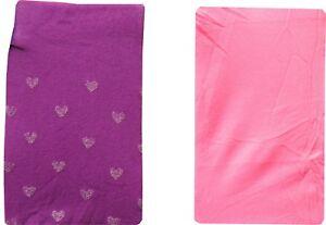 2-Pack-Baby-Girls-Tights-Purple-Heart-amp-Pink-Polka-Dot-Newborn-to-18-Months