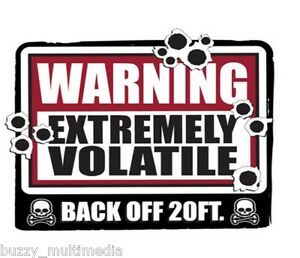 Warning-Extremely-Volatile-Back-Off-Shirt-Breaking-Bad-Snarky-T-Small-5X