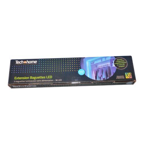 Extension 3 Baguettes 36 LED Bleu