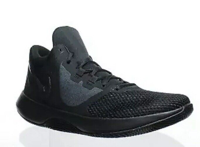 MEN'S NIKE AIR PRECISION II BASKETBALL SHOES BLACK AA7069 002 SIZE 11