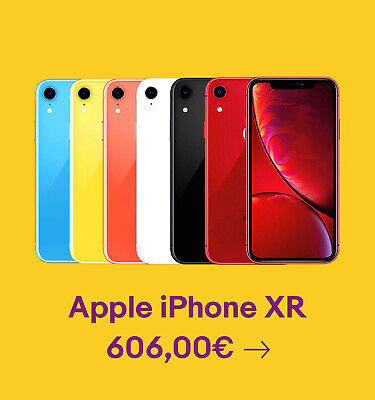 Apple iPhone XR 606,00€
