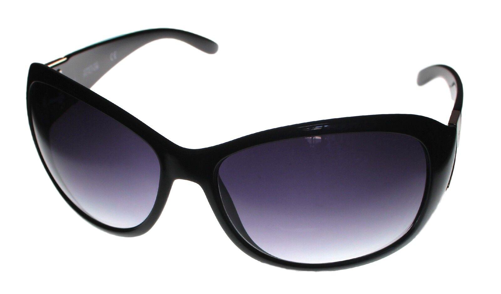 Gradient Lens KC1101 1B Kenneth Cole Reaction Sunglass Womens Black Rectangle