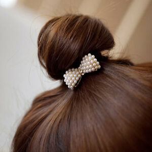 Women-Crystal-Elastic-Hair-Ties-Band-Ropes-Ring-Ponytail-Holder-Accessories