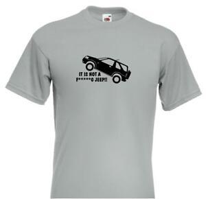 Freelander-039-NOT-A-F-G-JEEP-039-Slogan-Logo-Adult-T-Shirt