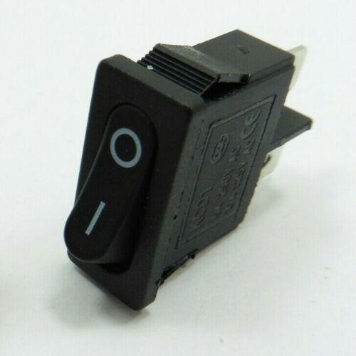 Plot 6 A 250 V 10 A 250 V AC on-off KCD1-101 Rocker Switch 21 mm x 9.5 mm SPST