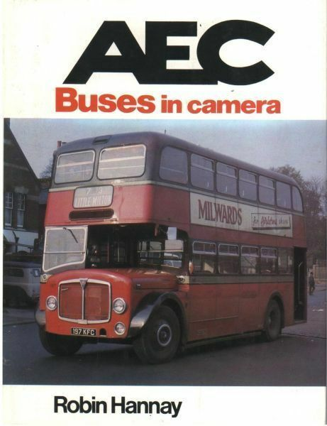 A. E. C. BUSES IN CAMERA ISBN: 9780711011601